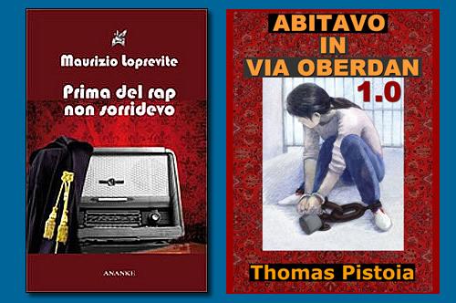"""Presentazione di """"Abitavo in Via Oberdan"""" e """"Prima del rap non sorridevo"""" a Lecce."""