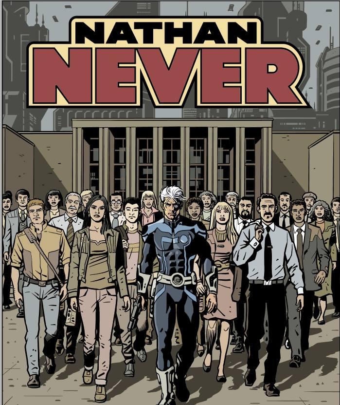 """Incontri e rassegna stampa legati all'albo di Nathan Never """"La lunga marcia"""""""